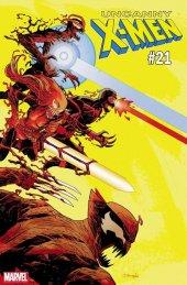 Uncanny X-Men #21 Declan Shalvey Carnage-ized Variant