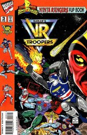 Mighty Morphin Power Rangers: Ninja Rangers / VR Troopers #3