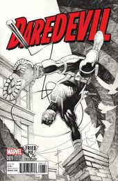 Daredevil #1 Fried Pie Black & White Variant