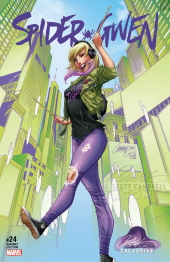 Spider-Gwen #24 J. Scott Campbell Exclusive Cover B