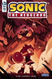 Sonic the Hedgehog #15 1:10 Incentive Variant
