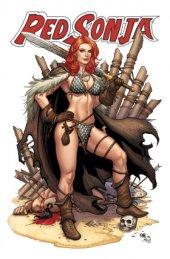Red Sonja #13 Frank Cho Kickstarter Standard