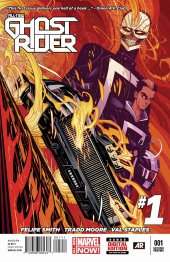 all-new ghost rider #1 2nd printing