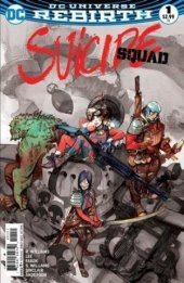 Suicide Squad #1 Greg Tocchino Fried Pie Faded Variant