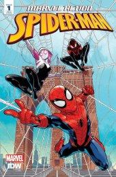 Marvel Action: Spider-Man #1 1:100 Incentive Variant