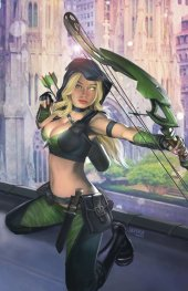 Robyn Hood: Justice #1 Cover C Burns