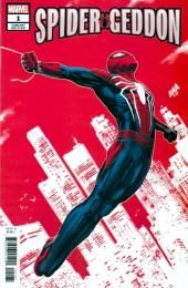 Spider-Geddon #1 Nakayama PS4 Spider-Man Variant