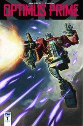 Optimus Prime #1 RI-B Cover