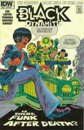 Black Dynamite #2 Subscription Variant