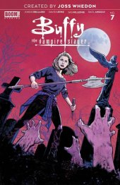 Buffy the Vampire Slayer #7 1:25 Walsh Cover