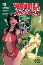 Vampirella / Red Sonja #5 Cover F Moss Then & Now