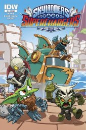 Skylanders: Superchargers #3 Subscription Variant
