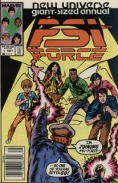 psi-force annual #1 newsstand edition
