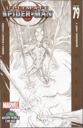Ultimate Spider-Man #79 Wizard World Chicago Sketch Cover