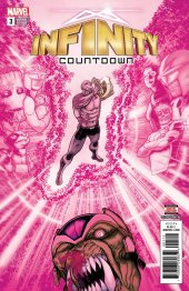 Infinity Countdown #3 2nd Printing Kuder Variant
