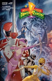 Mighty Morphin Power Rangers #17 FOC Tedesco Connecting Variant