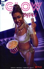 Glow Vs. The Babyface #4 1:10 Incentive Variant