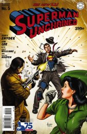 Superman Unchained #5 75th Anniversary Golden Age Cover