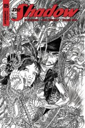 The Shadow #5 Cover G 1:40 Kaluta B&w Inc