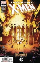 Uncanny X-Men #3 2nd Printing Cinar Variant