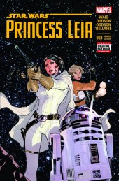Star Wars: Princess Leia #3 2nd Printing Dodson Variant