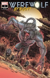 Werewolf by Night #3 Variant Cover