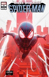 Miles Morales: Spider-Man #21 Brian Horton PS4 Variant