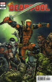 Deadpool #1 David Finch Variant
