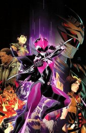 Mighty Morphin Power Rangers: Ranger Slayer #1 1:10 Dan Mora Virgin Variant