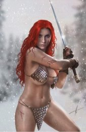 Red Sonja: Age of Chaos #2 C2E2 Carla Cohen Variant