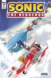 Sonic the Hedgehog #7 Cover B Thomas