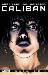 Caliban #3 Terror Cover