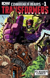 The Transformers: Windblade #1 St. Mark