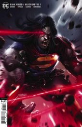Dark Nights: Death Metal #1 Superman Variant Cover by Francesco Mattina