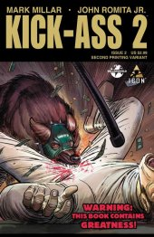 Kick-Ass 2 #2 2nd Printing