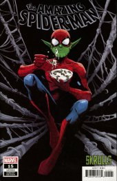 The Amazing Spider-Man #15 Garbett Skrulls Variant