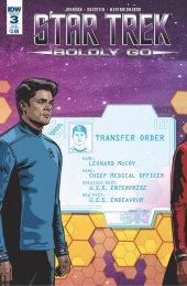 Star Trek: Boldly Go #3 Subscription Variant