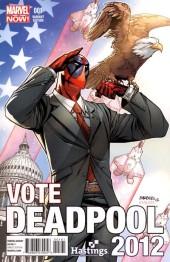 Deadpool #1 Hastings President Variant