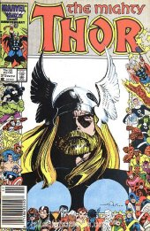 The Mighty Thor #373 Newsstand Edition