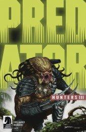 Predator: Hunters III #3 Cover B Blaine Glow in Dark Ink
