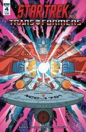 Star Trek vs. Transformers #4 Original Cover