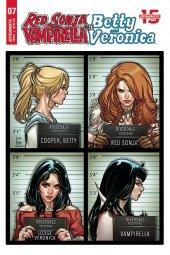 Red Sonja & Vampirella Meet Betty & Veronica #7 Original Cover