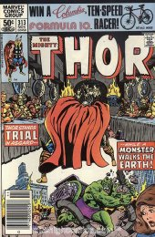 The Mighty Thor #313 Newsstand Edition