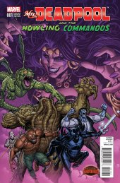 Mrs. Deadpool and the Howling Commandos #1 Team Variant