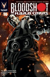 Bloodshot and H.A.R.D. Corps #16 ChrisCross Variant