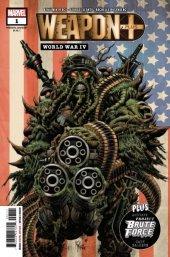 Weapon Plus: World War IV #1 Original Cover