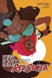 Killing Red Sonja #2 1:20 Ward Color Cover