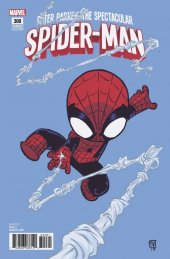 Peter Parker: The Spectacular Spider-Man #300 Skottie Young Baby Variant