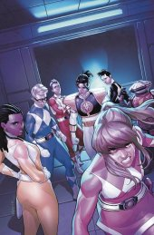 Mighty Morphin Power Rangers #52 1:25 Incentive Campbell Virgin Variant