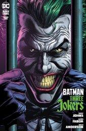 Batman: Three Jokers #2 Premium Variant Cover D Joker Behind Bars Variant